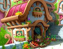 The houses like a Dofy's games