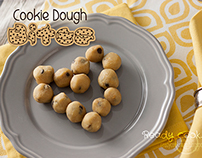 Cookie Dough Bites • food photography
