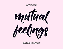 FREE Mutual Feelings Font