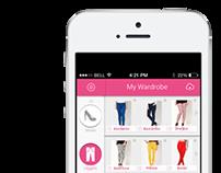 Wardrobe Sharing App