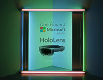 Art as a Brand - Dan Flavin - HoloLens Flagship Store -