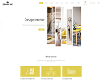 Design Interior HTML Website By Minhazul Asif