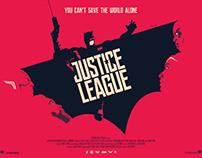 JUSTICE LEAGUE Poster Art