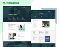 Responsive website for accounting company