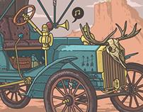 20th century classic cars.