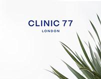 Website Design for Clinic 77