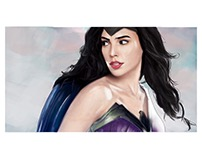 Wonder woman Ordinary lyfe vs On duty