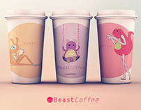 Beast Coffee - Branding