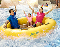 WILD WADI WATERPARK, DUBAI - IMAGE COMPOSITION