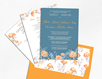Marc & Char Wedding Invitation