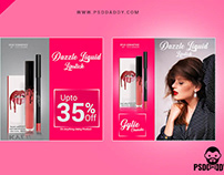 New Lipstic Social Media Post PSD Template