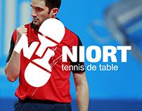 Logotype NTT (Niort table tennis)