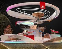 Emirates Airline Stand ATMDubai 2021