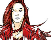 Girls Inspiration [Elizabeth Olsen] Scarlett Witch
