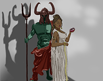 Hades and Persephone, Lovers of the Underworld
