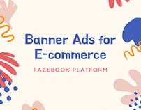 Banner Ads Design for E-commerce Websites!