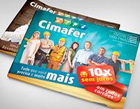 Cimafer / Encartes de produtos e Anúncios de Jornal