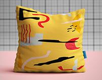 Cushion & Pottery