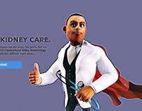 Cumberland Valley Nephrology Website UI/UX