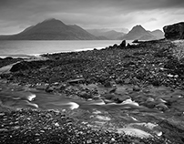 The Scottish Highlands, Black and White