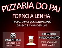 Pizzaria do Pai - Forno A Lenha