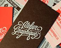 Atelier Graphique, flyers sérigraphie