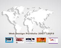 "Web Portfolio 2019 ""Motion Design"""