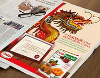 Dalda Flavoursome Award Print Ad