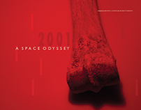Graphic Design Poster: 2001: A Space Odyssey