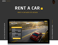 VIP RENT CAR Web Site Design