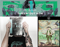 Collage Collective Co - Green-Book/Livro