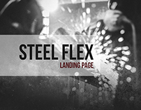 STEEL FLEX (Landing page)