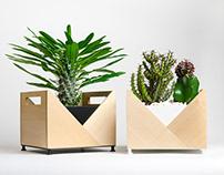 Flower pot Origami