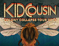 Kid Cousin – Colony Collapse Tour Poster