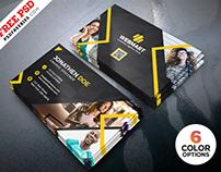 Business Card Templates PSD Bundle