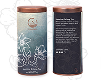 Tea Tin Packaging Style