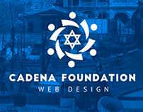 Cadena foundation -Web design-