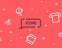 Takhfifan Icon set