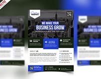 Free PSD : Premium Advertising Flyer PSD Template