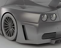 Ferrari Sport Car | 3d Modeling