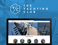 The Yachting Club website