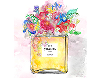 Chanel No.5 Parfum Flowers