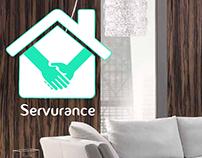 Servurance Poster design