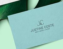 Branding - Justine Coste Wellness Living
