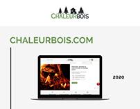 Refonte site e-commerce Chaleurbois.com