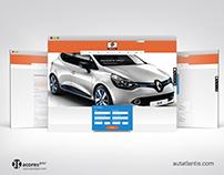 Rent-a-Car - Autaltantis // Responsive Website