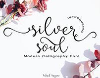 Silver Soul - Modern Calligraphy Font