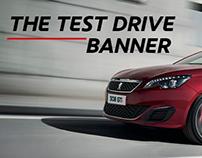 Peugeot Test Drive Banner (Mobile)