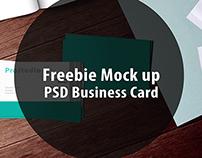 Freebie - simple business card Mock Up. FREE PSD