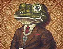 Portrait of Mr. Frog